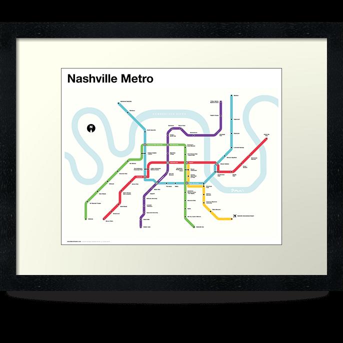 Nashville Metro Map