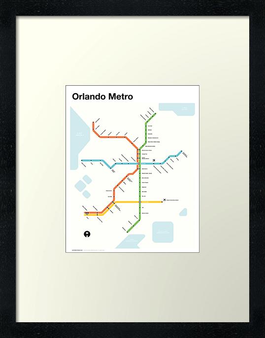 Orlando Metro Map
