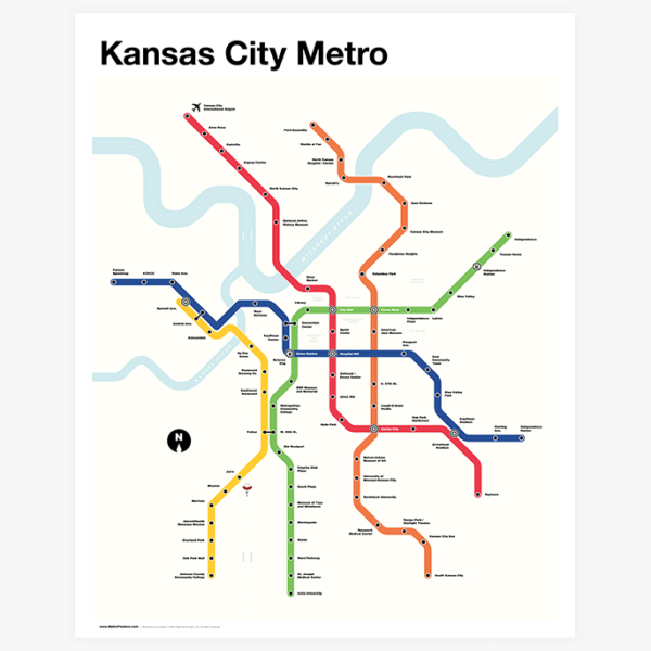 Kansas City Metro Map