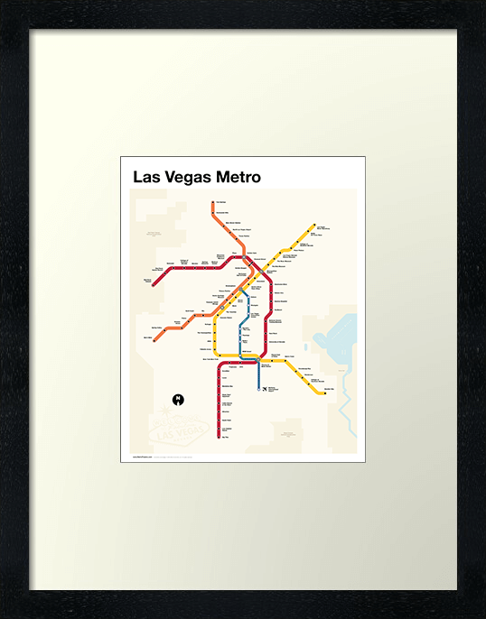 Las Vegas Metro Map