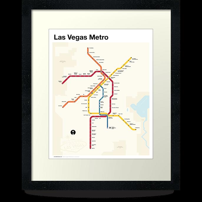 Las Vegas Metro Map