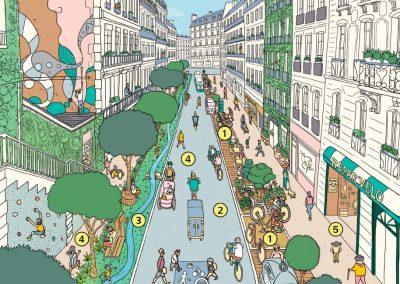 Paris Mayor Plans to Create a 15-Minute City