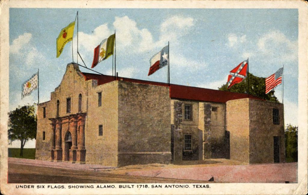 San Antonio Alamo (under six flags)