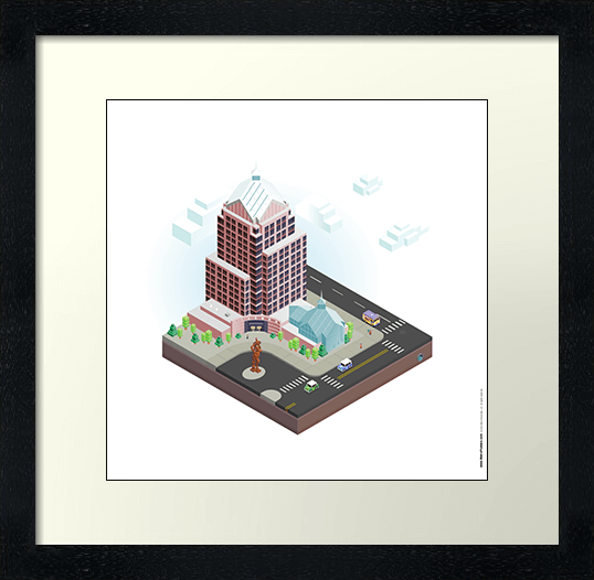 City Blocks: Legacy Tower (Rochester, NY) Poster