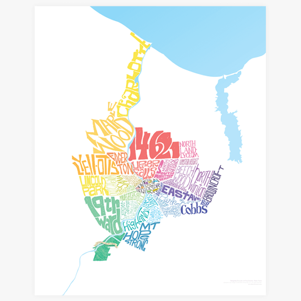 Rochester Neighborhoods Map