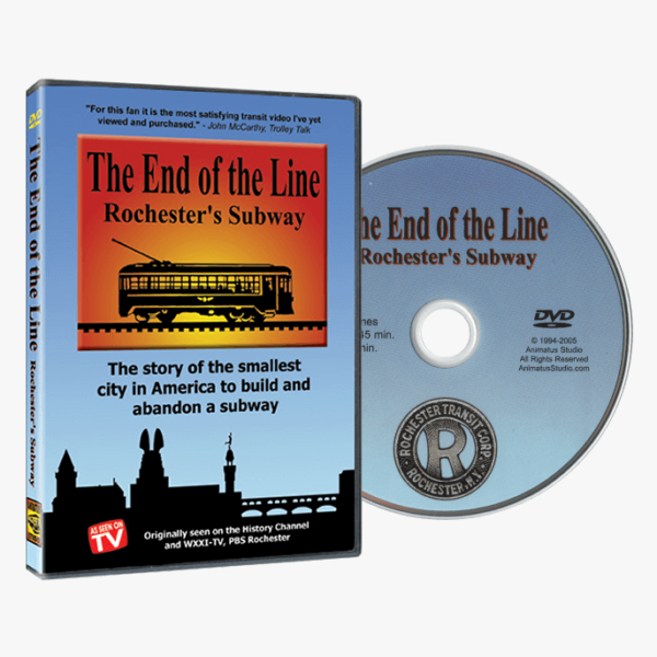 The End of the Line Rochester's Subway DVD