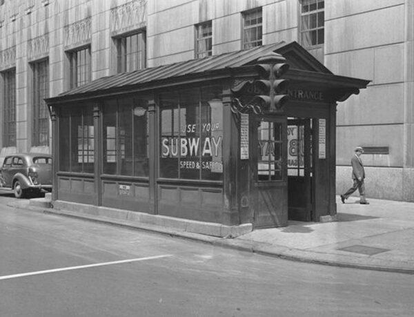 Rochester Subway Entrance