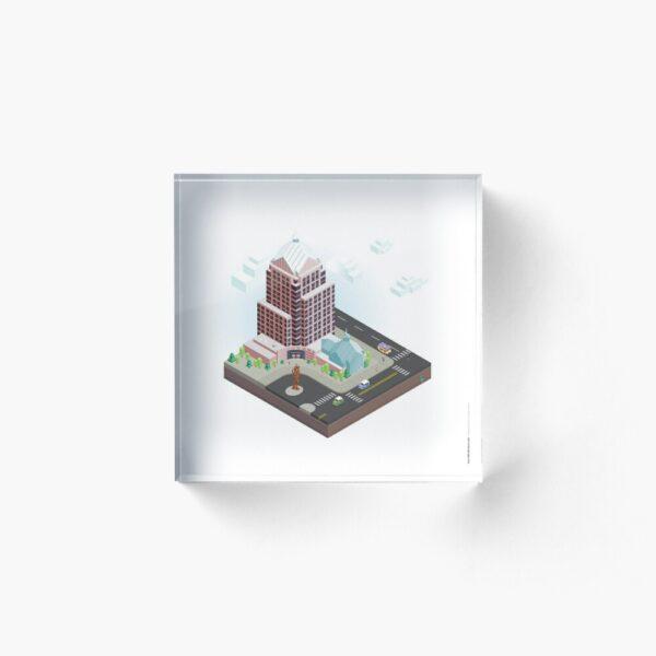 City Blocks: Legacy Tower (Rochester, NY) Acrylic Block